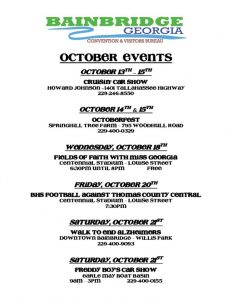 thumbnail of October Events 2017