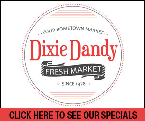 Dixie Dandy - Click to See Our Current Specials
